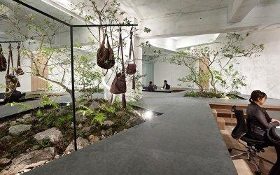 desain kantor nuansa alam - Informasi Sutomo Tower