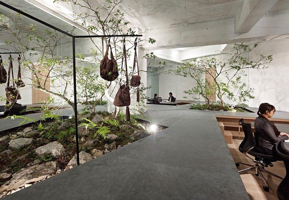 sutomo tower - desain kantor nuansa alam