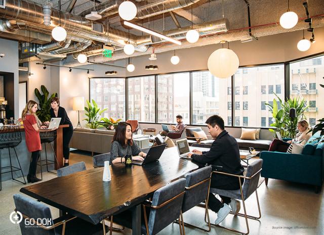 Pengaruh Lingkungan Kerja di Ruang Kantor Terhadap Produktivitas