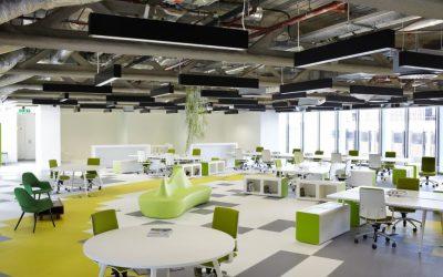 ruang kantor terbuka - Informasi Sutomo Tower