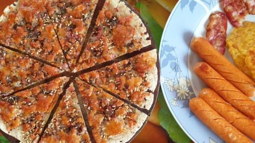 ภาพท็อปวิว อาหารอิตาเลียน