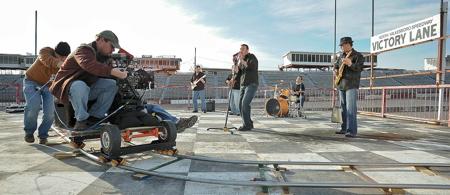 Carolina Moonshine music video at North Wilksboro Speedway