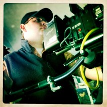 Cinematographer James Suttles behind the Red Epic 5K Camera