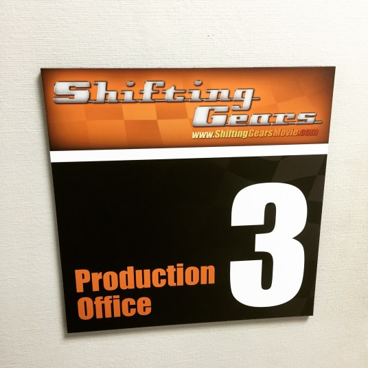 Shifting Gears Production Office