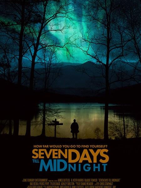 Teaser Poster - Seven Days Till Midnight