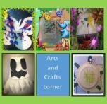 Arts and crafts corner