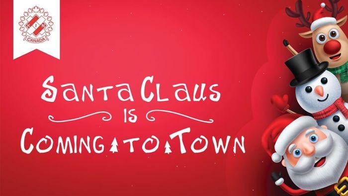 Sutton Santa Clause Parade 2019