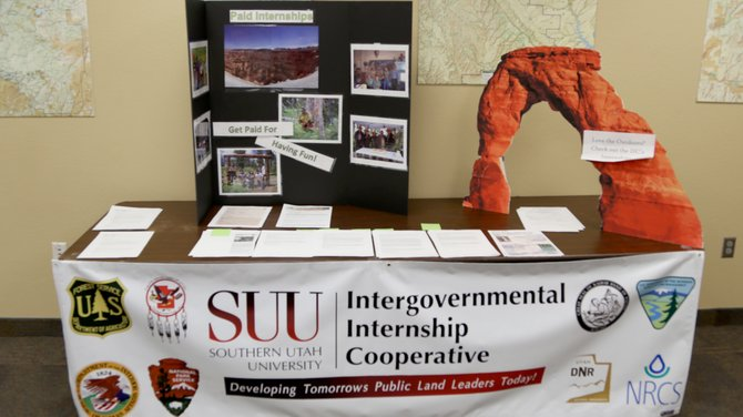 The Intergovernmental Internship Cooperative helps provide internships to SUU students.