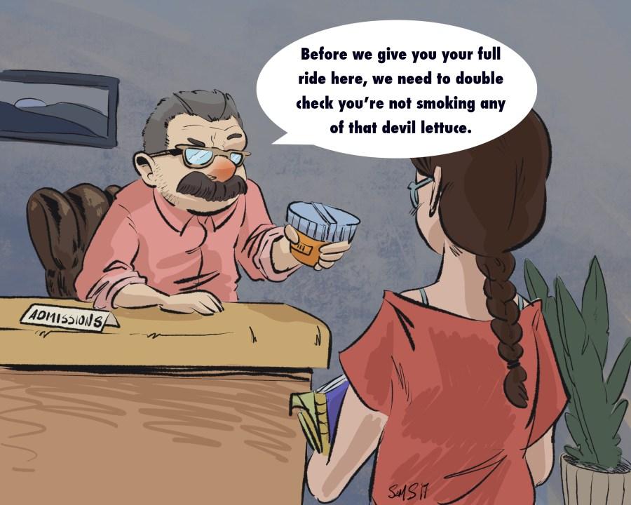 Cartoon by Samuel Sherrill
