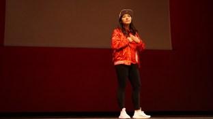 Tiffany Chin during spirit wear.