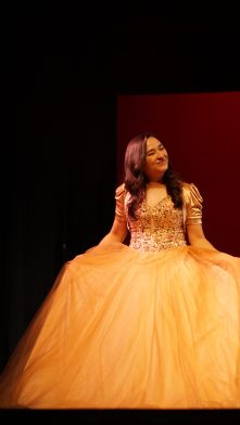 Tiffany Chin during pageant wear.