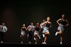 SUU intermediate team performing the Lindy Hop.