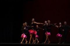 SUU intermediate team performing the Cha Cha Cha.