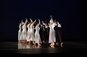 SUU CPVA students perform Doris Humphrey's The Shakers.