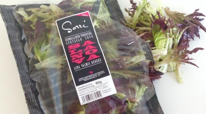 Salaatti nro 71 – onko hampurilainen salaatti?