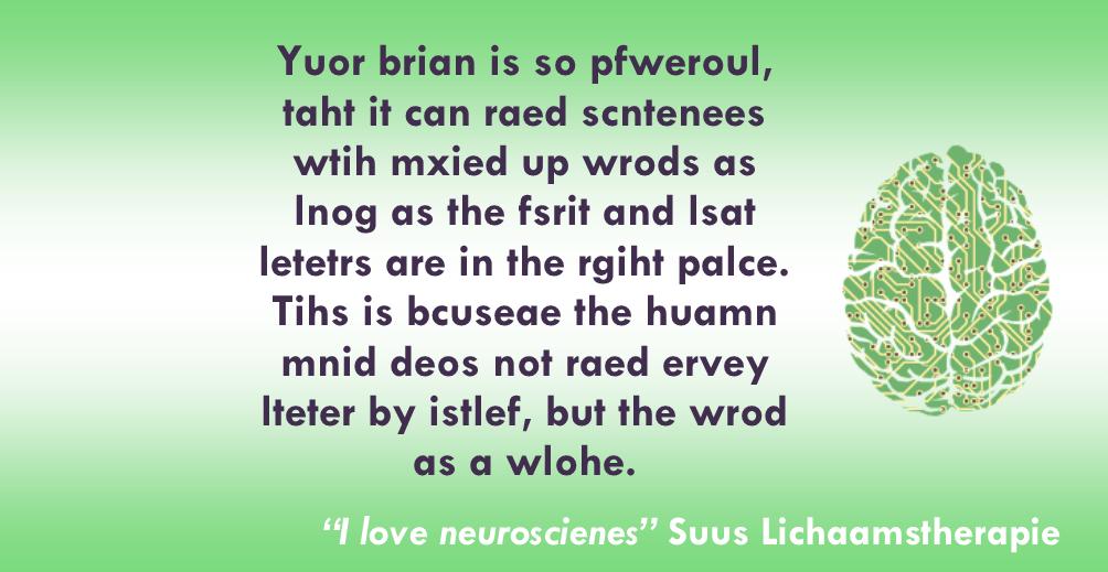De kracht van de hersenen