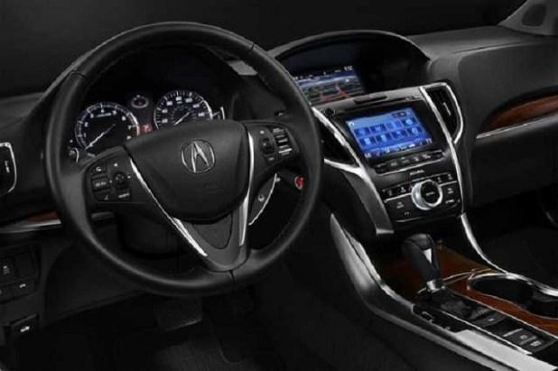 2018 Acura CDX interior