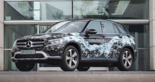 2018 Mercedes-Benz GLC F-Cell front