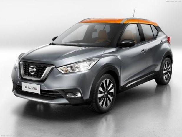 2018 Nissan Kicks front
