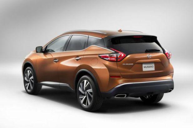 2018 Nissan Murano rear