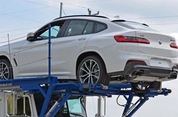 2019 BMW X4 spy shots