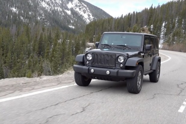 2019 Jeep Wrangler SUV spy