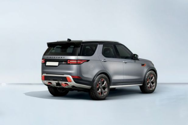 2019 Land Rover Discovery SVX rear