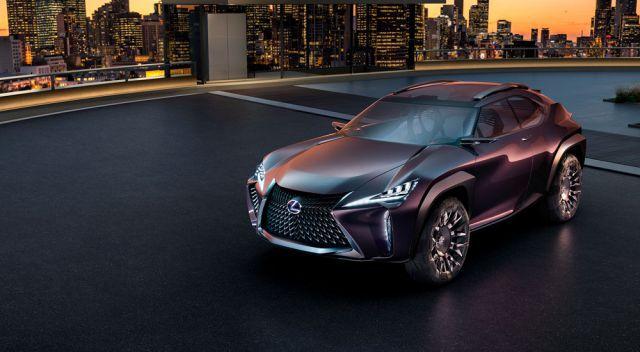 2019 Lexus UX SUV Concept