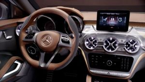 2019 Mercedes-Benz GLA interior view