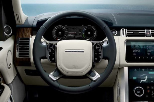 2019 Range Rover P400E interior