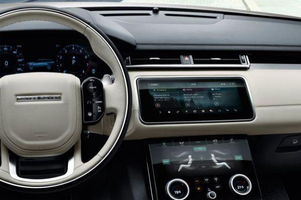 2019 Range Rover Velar SVR interior