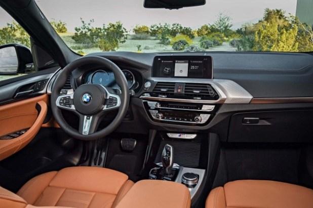 2019 bmw x3 interior