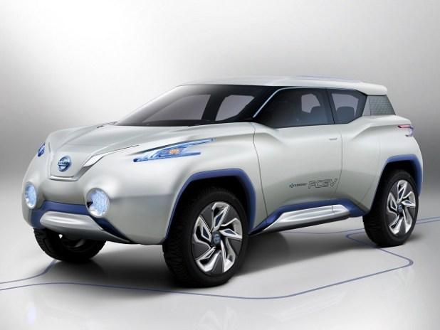 Nissan Leaf Based Electric Crossover Concept