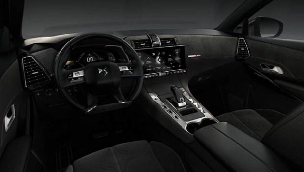 2018 DS7 Crossback SUV interior