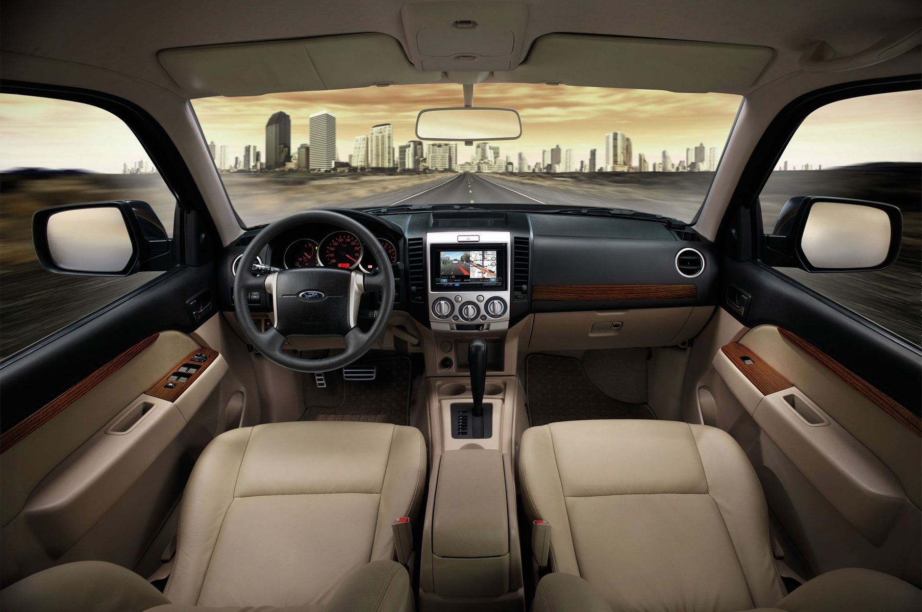 2018 Ford Everest interior - 2019 and 2020 New SUV Models