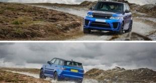 2018 Land Rover Range Rover Sport SVR front