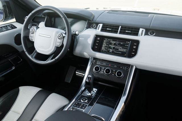 2018 Land Rover Range Rover Sport Svr Interior 2019 And