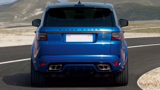 2018 Land Rover Range Rover Sport SVR rear