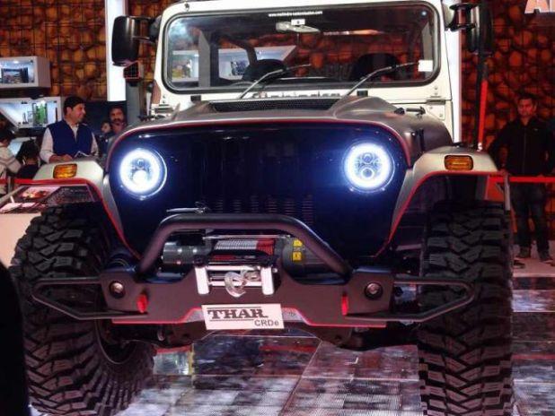 2018 Mahindra Thar front