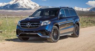 2018 Mercedes-Benz GLS 63 AMG front view