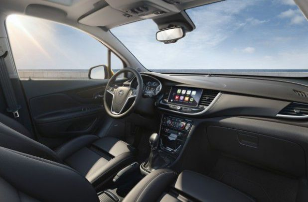 2018 Opel Mokka X interior