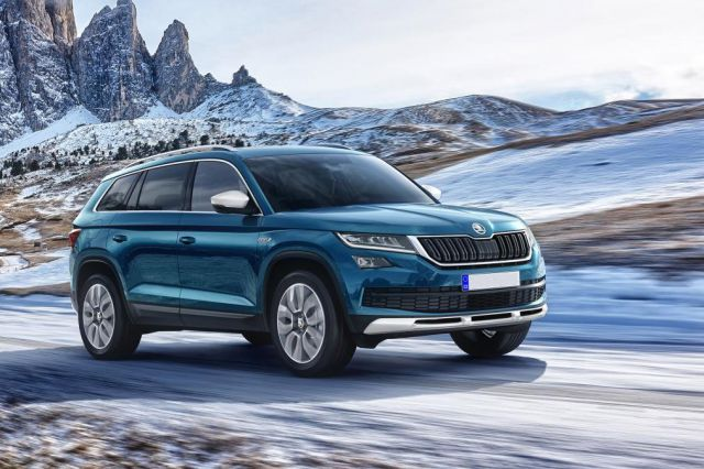 2018 skoda kodiaq price specs 2019 and 2020 new suv models. Black Bedroom Furniture Sets. Home Design Ideas