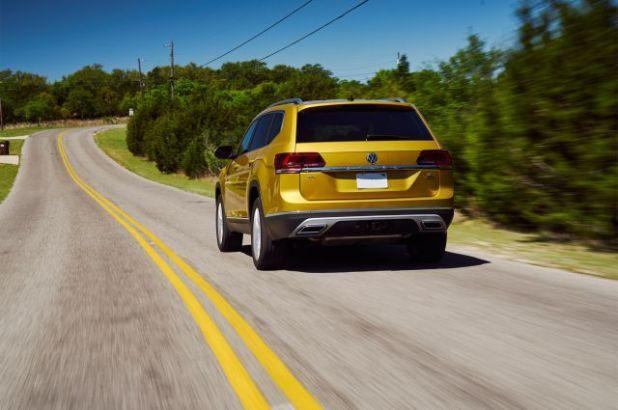 2018 Volkswagen Atlas rear