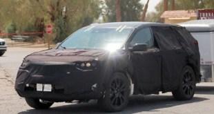 2019 Acura RDX spy shots