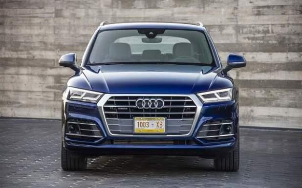 2019 Audi Q5 front view