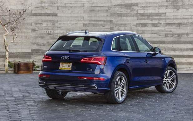 2019 Audi Q5 rear view