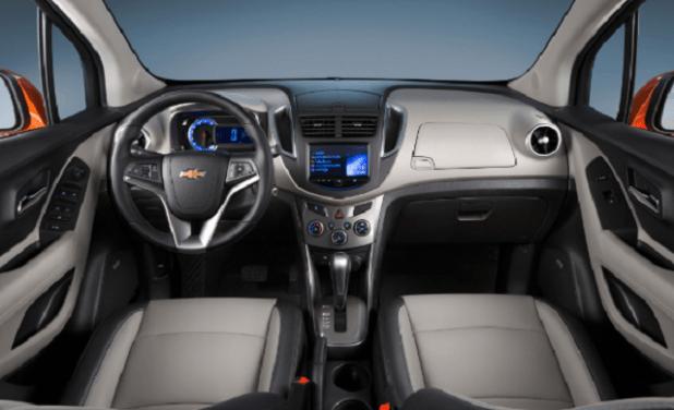 2019 Chevrolet Trax interior
