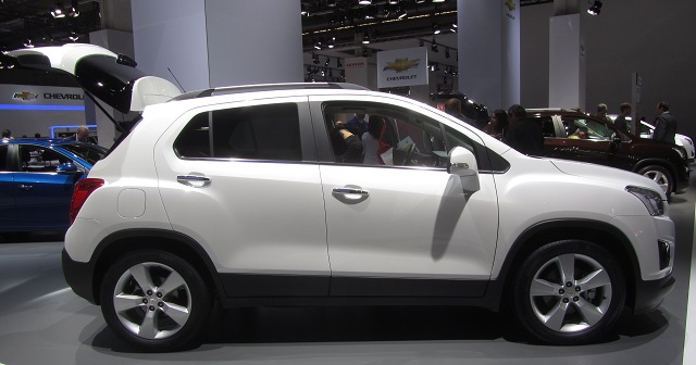 2019 Chevrolet Trax Side View 2019 And 2020 New Suv Models
