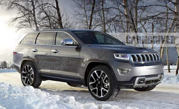 2019 Jeep Grand Wagoneer Concept