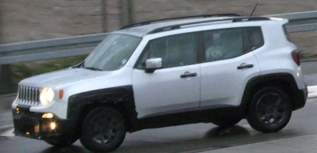 2019 Jeep Renegade spy